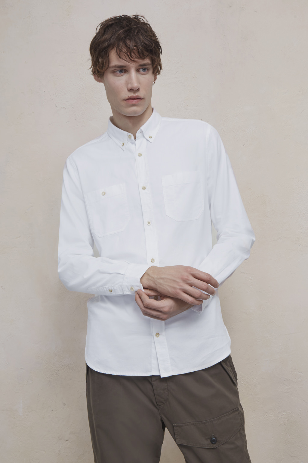 Overwashed Oxford Shirt Mens Sale French Connection Usa