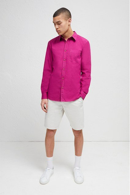 Overdyed Poplin Shirt