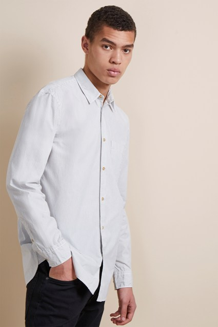 Core Peach Cotton Shirt