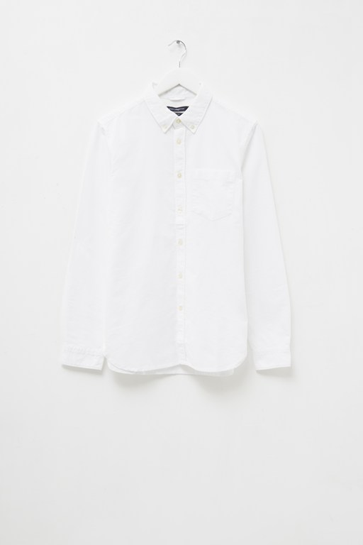brushed oxford shirt