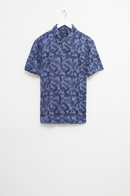 Hawaiian Leaf Shirt