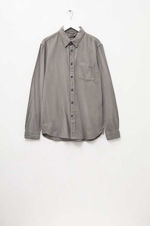 herringbone flannel shirt