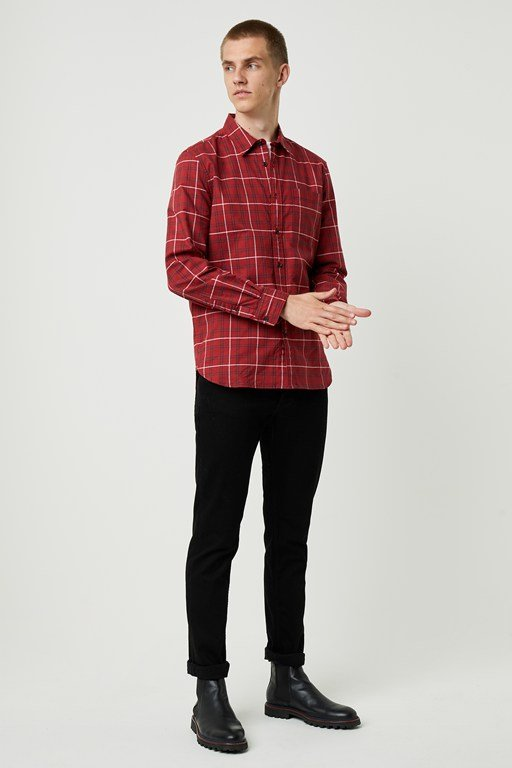 workwear plaid shirt