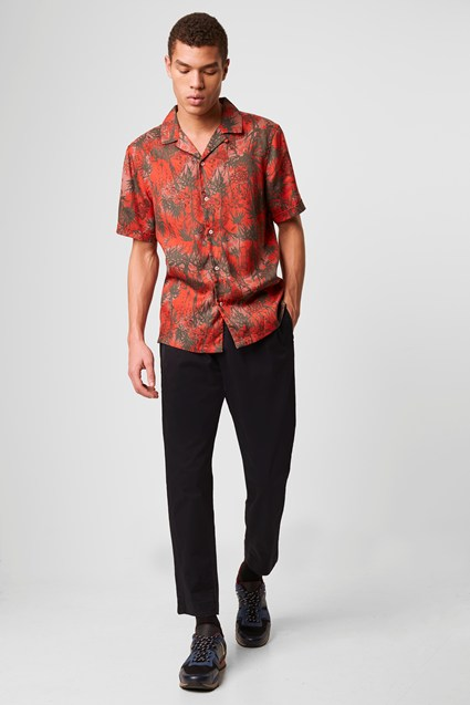 Dione Palm Tree Print Shirt