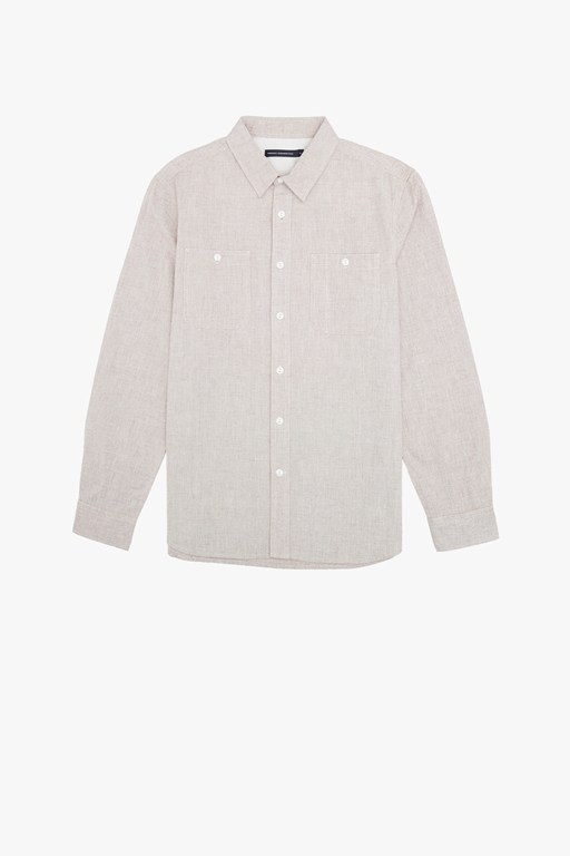 workwear chambray oxford shirt