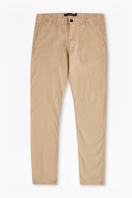 Complete the Look Sam Slim Cotton Trousers