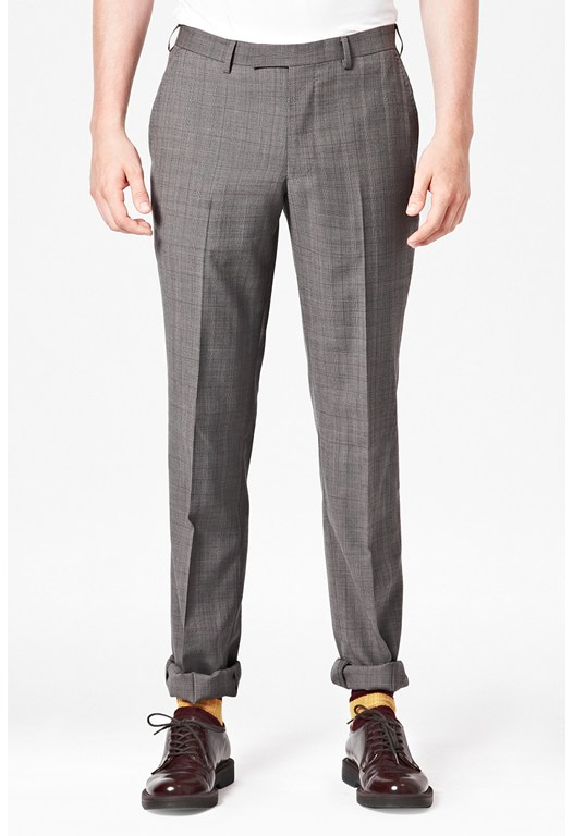 Freewheelin Wales Checked Trousers