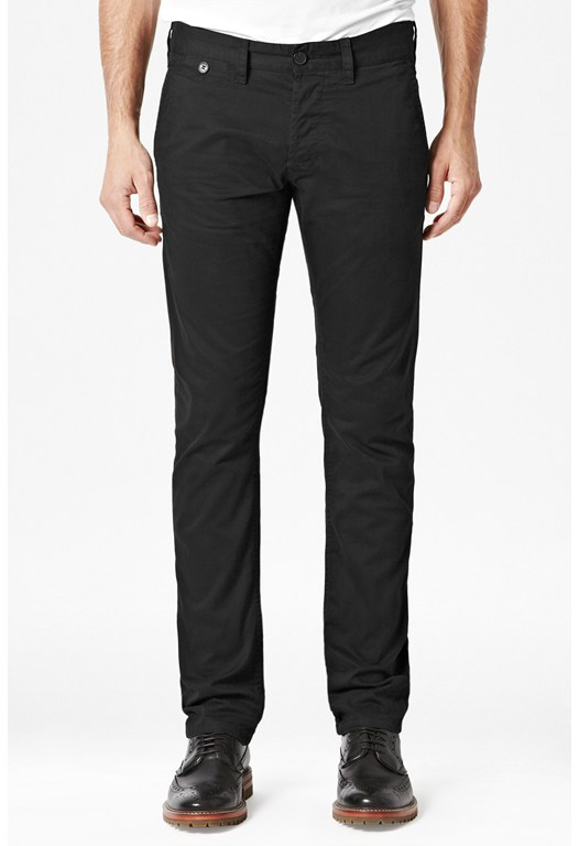 Compact Stretch Twill Skinny Jeans
