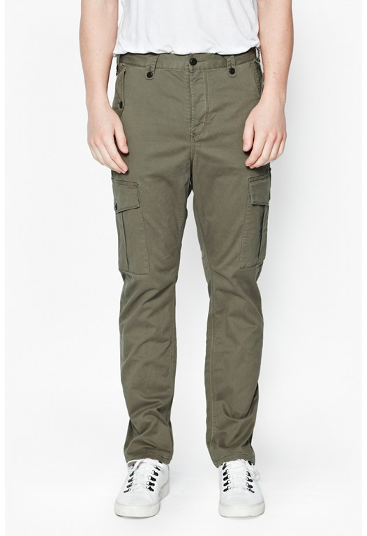 Mast Machine Gun Stretch Trousers