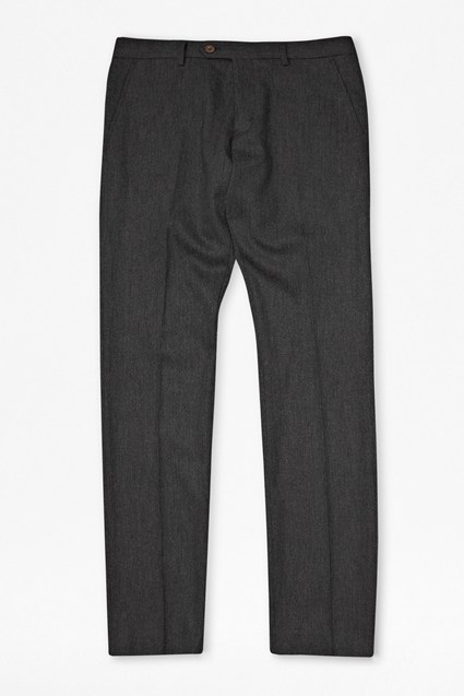 Washed Wool Trousers