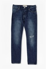 Looks Great With Rip And Repair Slim Jeans
