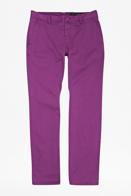 Garment Dyed Machine Gun Trousers
