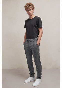 Patchwork Wool Trousers