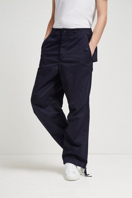 Military Broken Twill Drawstring Trousers