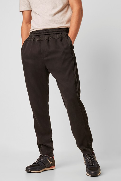 lyocell panelled trouser