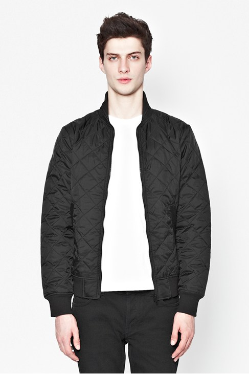 Marine Quilted Jacket
