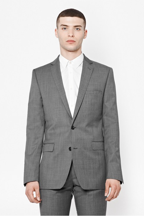 Sharkskin Suit Jacket