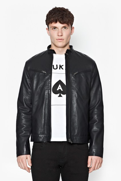 Existential Lamb Leather Jacket
