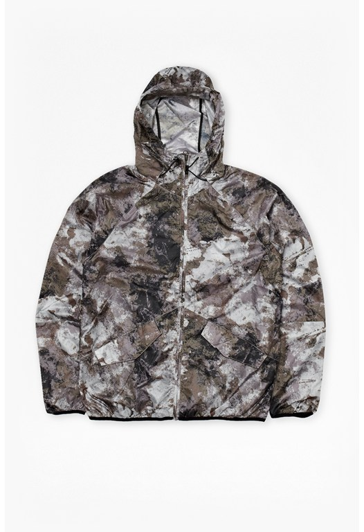 Blossom Nylon Hooded Jacket