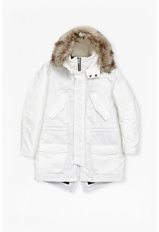 Richmond Faux Fur Hooded Parka