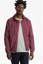 Looks Great With Garment Dyed Ottoman Track Jacket