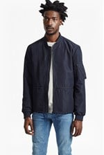 Looks Great With Patiala Perforated Bomber Jacket