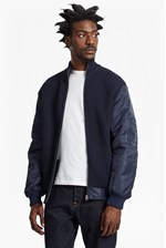 Looks Great With Hybrid Ribbed MA1 Bomber Jacket