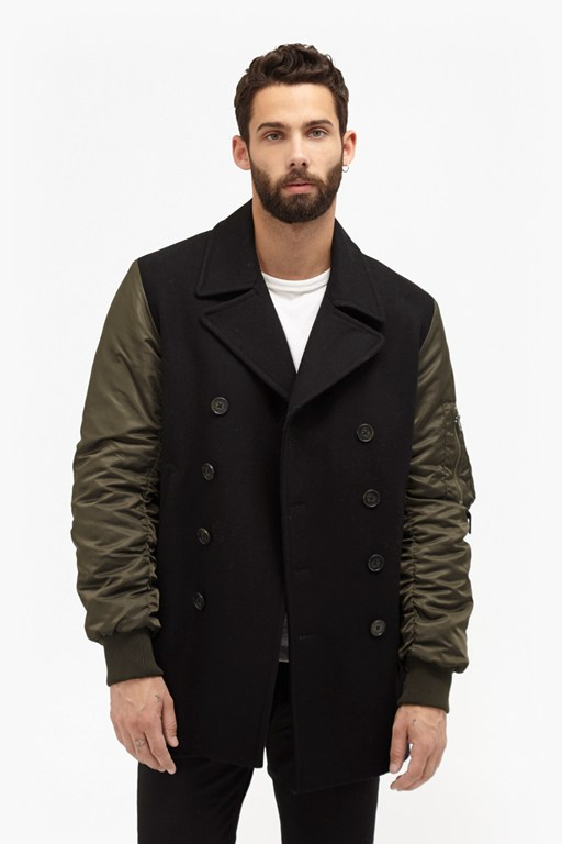 Complete the Look Passenger Hybrid Peacoat