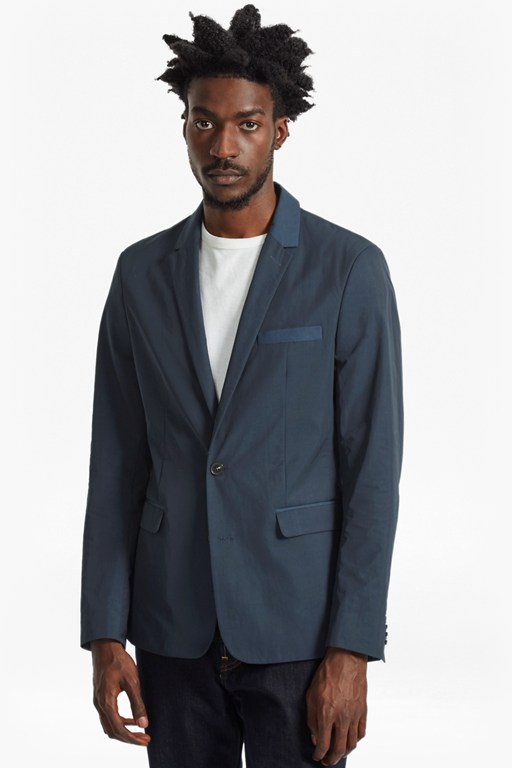 Complete the Look Lightweight Nylon Blazer