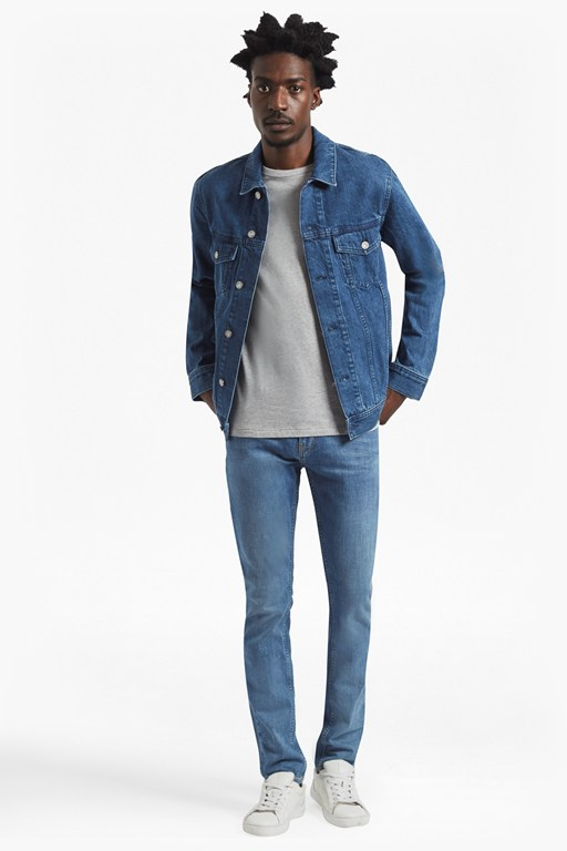 Complete the Look Bleached Denim Jacket