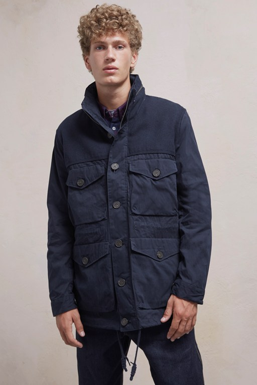 Complete the Look Kurtz Cotton Mix Jacket