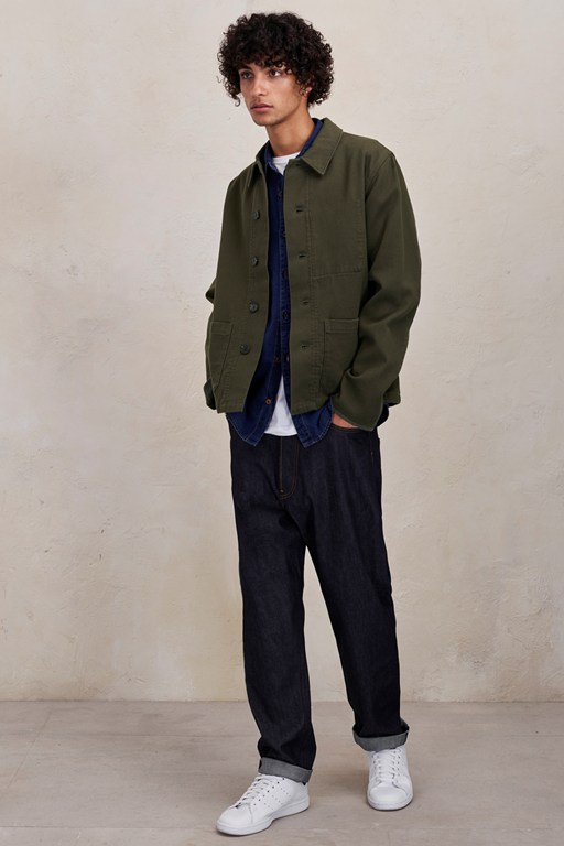 Complete the Look Cotton Row Jacket