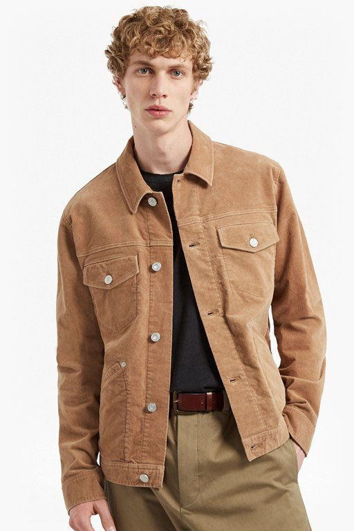 Complete the Look Vintage Cord Jacket
