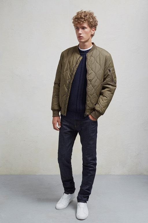 Complete the Look Onion Quilted Jacket