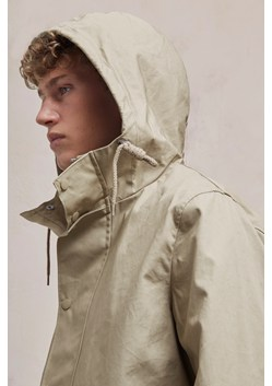 Bonded Cotton Hooded Rain Mac