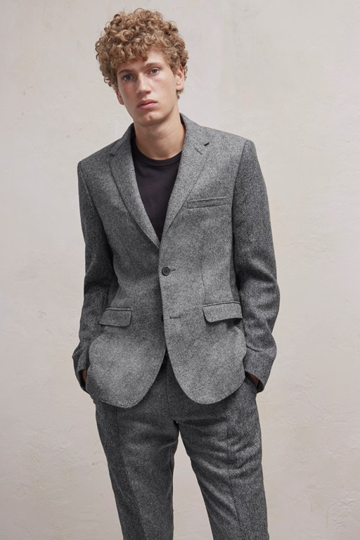 Complete the Look Patchwork Wool Jacket
