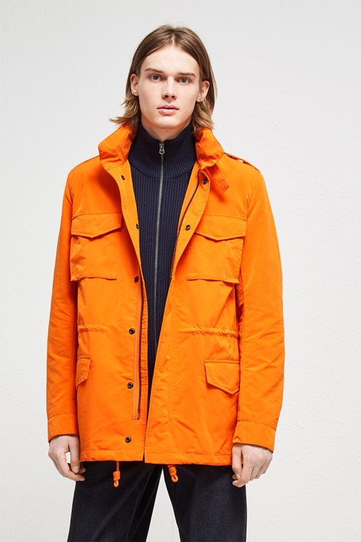 Complete the Look Wax Sanded Field Jacket