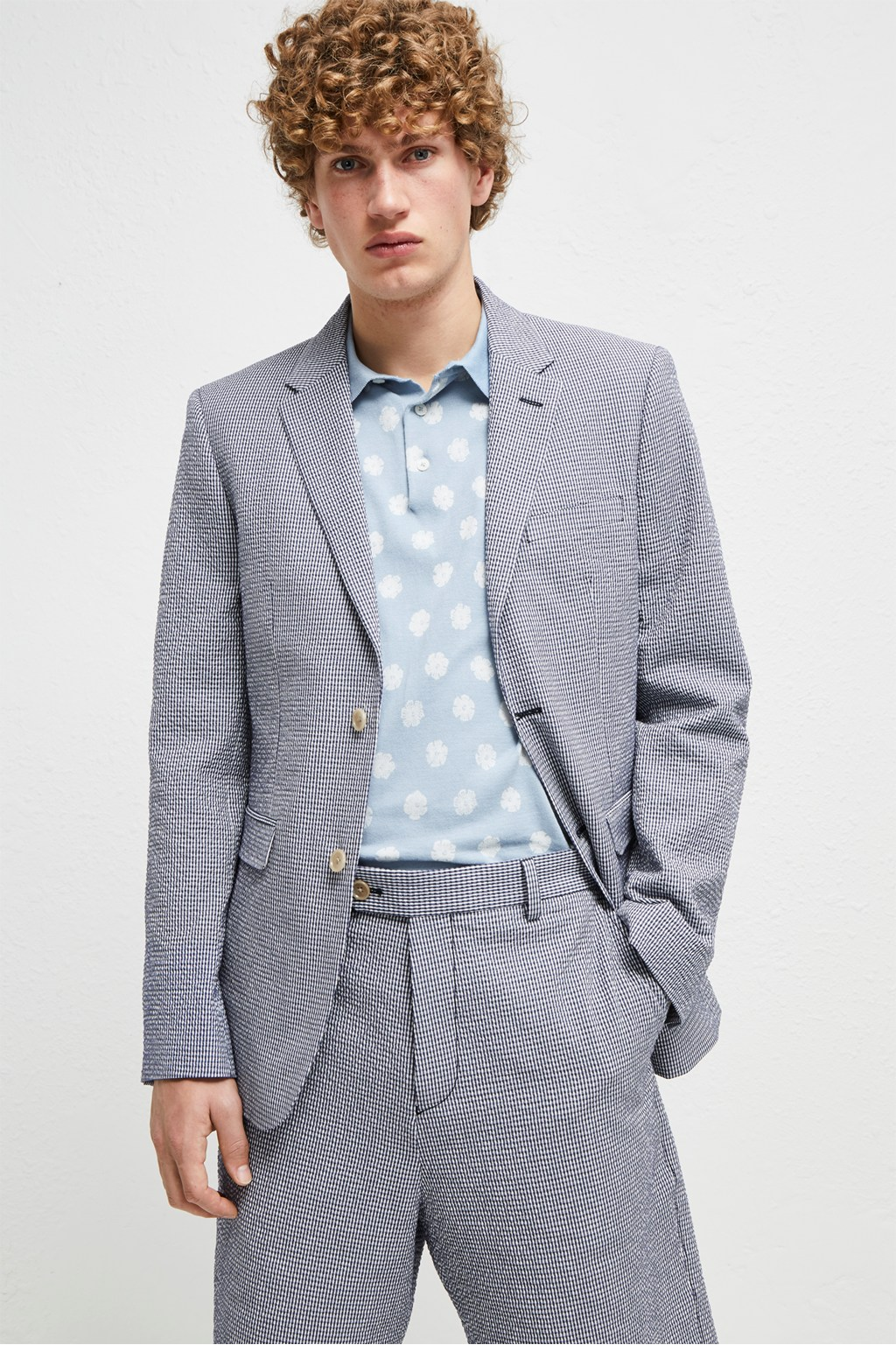 03ff6ef4bd43f9 Seersucker Suiting Jacket   Mens Sale   French Connection Usa