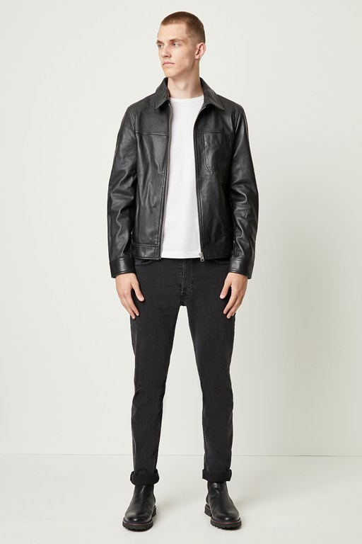 bleeker leather jacket