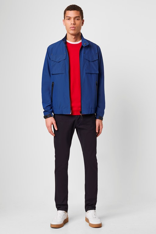 technical harrington jacket
