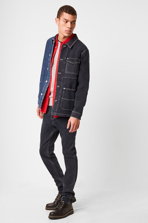 chore denim jacket