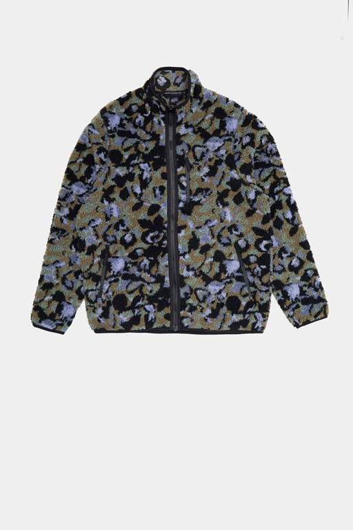 fleece jacquard