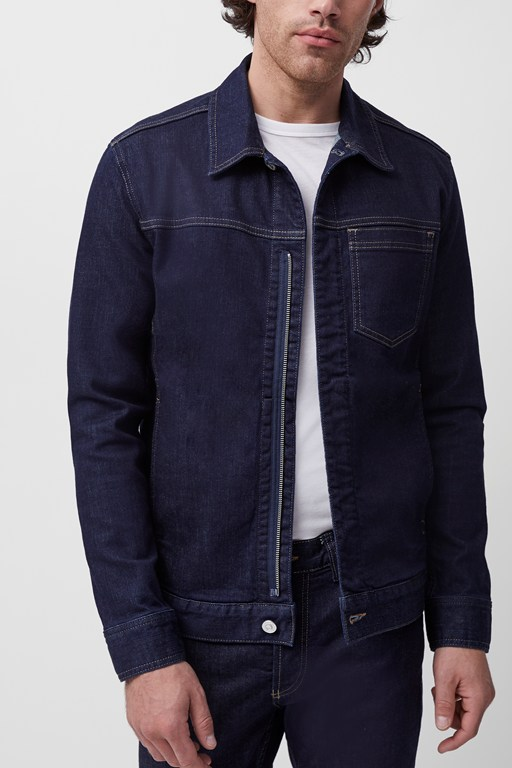 san fran zip up denim jacket