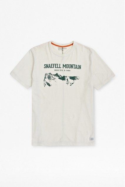Snaefell Printed T-Shirt