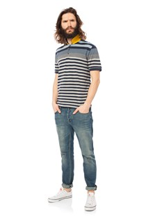 CHIMPANZY STRIPE UK-DEAN POLO
