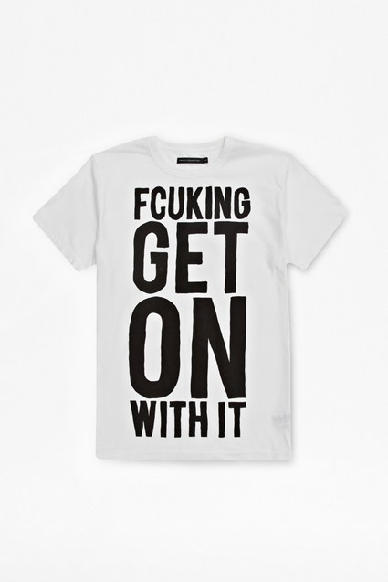 Fcuking Get On With It T-Shirt