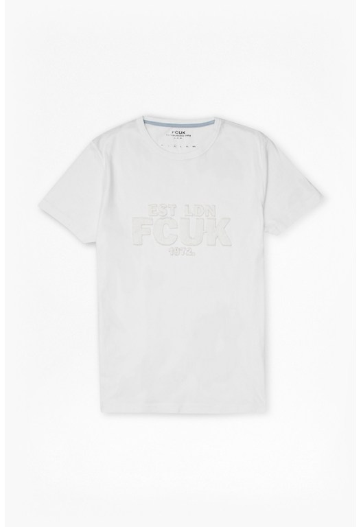 Solid Fcuk T-Shirt