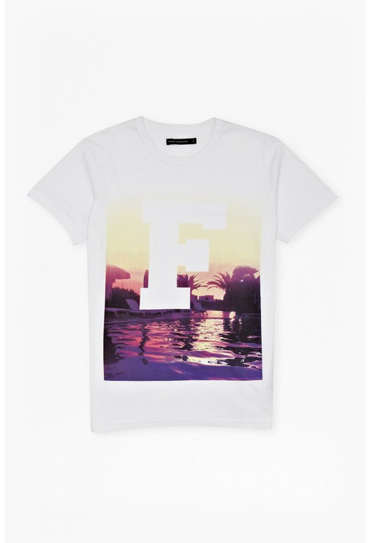 Pool Side F T-Shirt