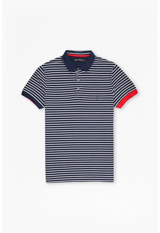 Pavenham Striped Polo Shirt