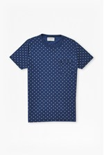 Looks Great With Indigo Dot T-Shirt